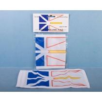 "Newfoundland Car Antenna Flag ~ 5"" x 10"""