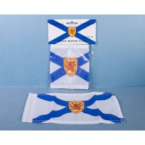 "Nova Scotia Car Antenna Flag ~ 5"" x 10"""