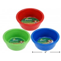Heavy Duty Plastic Pet Bowl ~ 20oz