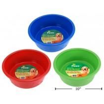 Heavy Duty Plastic Pet Bowl ~ 106oz