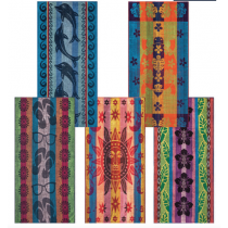 Jacquard Beach Towels ~ 5 assorted