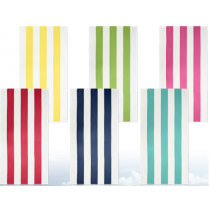 Cabana Stripes Terry Beach Towel ~ 6 assorted