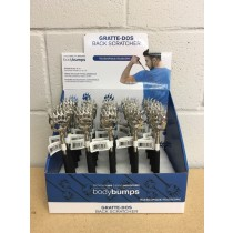 Telescopic Bear Claw Stainless Steel Back Scratcher ~ 25 per display
