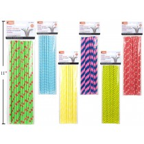 Flexible Paper Straws ~ 20 per pack