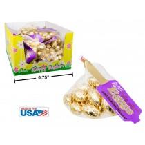 Easter Goil Foil Covered Chocolate Eggs in Mesh Bag ~ 113gram