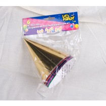 Foil Party Hats ~ 6 per pack