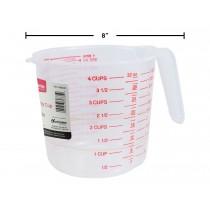 Plastic Measuring Cup ~ 1L / 4 cups