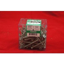 "Pressure Treated Green Decking Screws - #8 x 2"" ~ 100 per box"