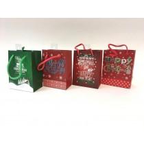 Christmas Small Gift Bag ~ Christmas Greetings