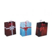 Christmas Small Gift Bag ~ Bows & Ribbons