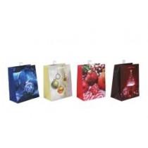 Christmas Medium Gift Bag ~ Tree Balls ~ 12 per Bag