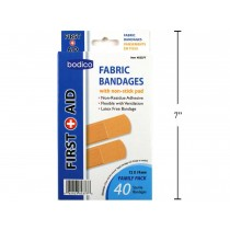 Fabric Bandages ~ 40 per pack