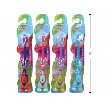 Kid's Toothbrush with Animal Handle ~ 1 per pack