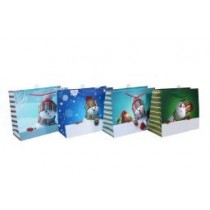 Christmas Large Gift Bag ~ Snowman