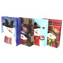Christmas Jumbo Gift Bag ~ Snowman