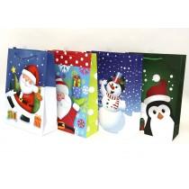 Christmas Jumbo Gift Bag ~ Santa/Snowman/Penguin