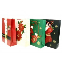 Christmas Jumbo Gift Bag ~ assorted