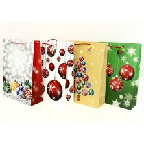 Christmas Jumbo Gift Bag ~ Tree Balls