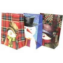 Christmas Super Jumbo Gift Bag ~ Snowman