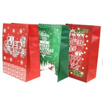 Christmas Super Jumbo Gift Bag ~ Christmas Greetings