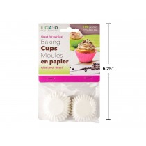 Paper Baking Cups - Mini ~ 100 per pack