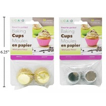 Paper Baking Cups - Mini ~ 50 per pack