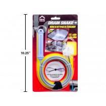 Drain Cleaner Brush / Snake ~ 5' L
