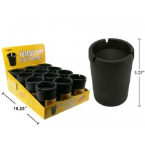 Jumbo Butt Bucket Extinguishing Ashtray - Black Only ~ 12 per display