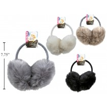 Adult Deluxe Faux Fur Earmuffs