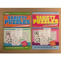 Variety Puzzles and Games Book