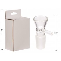 MojiMellow 19mm Water Pipe Bowl - Male ~ NOV/DEC DELIVERY