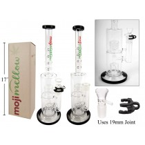 "MojiMellow 15.5"" Glass Water Pipe"
