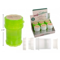 MojiMellow Canister with Built-In Grinder