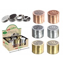 """MojiMellow 2"""" Alloy Grinder with Built-In Screen ~ 4 Part"""