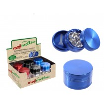 "MojiMellow 2"" Aluminum Grinder with Built-In Screen ~ 3 Part"