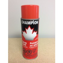 Champion Spray Paint - 285gr tin ~ Orange