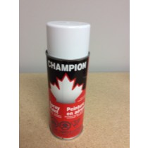 Champion Spray Paint - 285gr tin ~ Gloss White