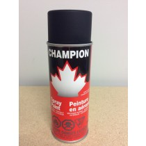 Champion Spray Paint - 285gr tin ~ Flat Black