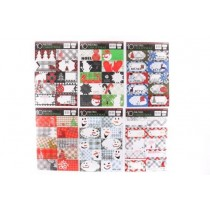 Christmas Foil Peel & Stick Tags ~ 10 per pack