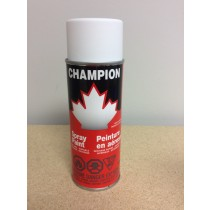 Champion Spray Paint - 285gr tin ~ Flat White