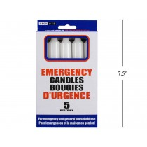 Emergency Candles ~ 5 per pack