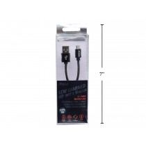 iFocus Micro Charge & Sync Cable - 1M (3.3') ~ Black