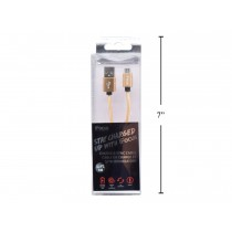 iFocus Micro Charge & Sync Cable - 1M (3.3') ~ Gold
