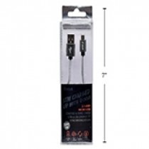 iFocus Micro Charge & Sync Cable - 1M (3.3') ~ Grey