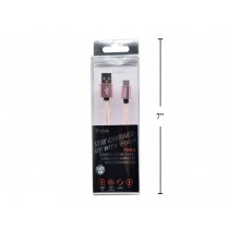 iFocus Type C Charge & Sync Cable - 1M (3.3') ~ Rose Gold