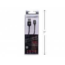iFocus Lightening Charge & Sync Cable - 1M (3.3') ~ Black
