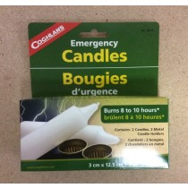Coghlan's Emergency Candles ~ 2 per pack