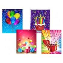 Medium Gift Bags ~ Birthday No Writing