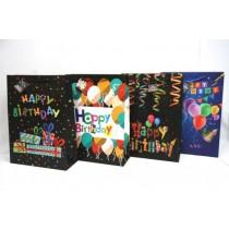 Jumbo Wide Gift Bags ~ Happy Birthday