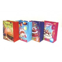 Large Gift Bags ~ Happy Birthday Cakes